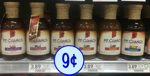 picture about Pf Changs Printable Menu named P.F. Changs Household Menu Sauces - Particularly 39¢ At Publix