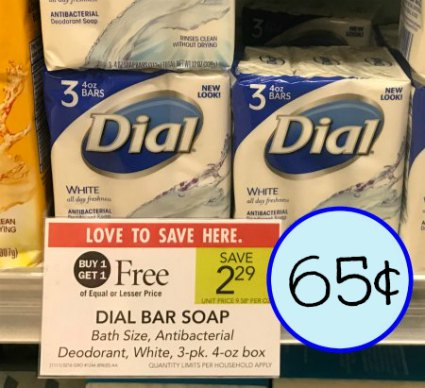 photograph about Dial Printable Coupon known as Clean Dial Discount coupons - 65¢ Packs Of Cleaning soap At Publix