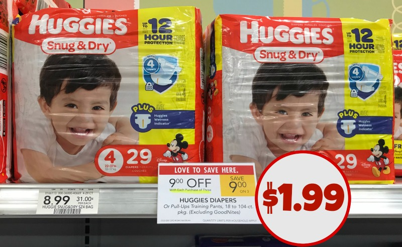 Huggies Diapers Coupon, I Heart Publix