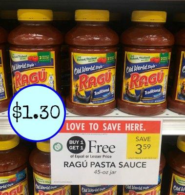 Ragu pasta sauce coupon 2018