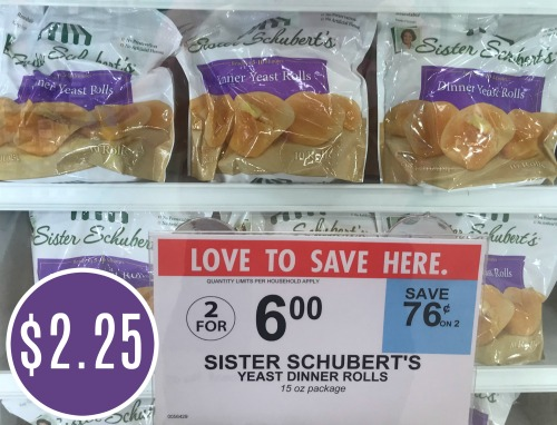 Sister Schubert S Yeast Dinner Rolls Only 2 25 At Publix