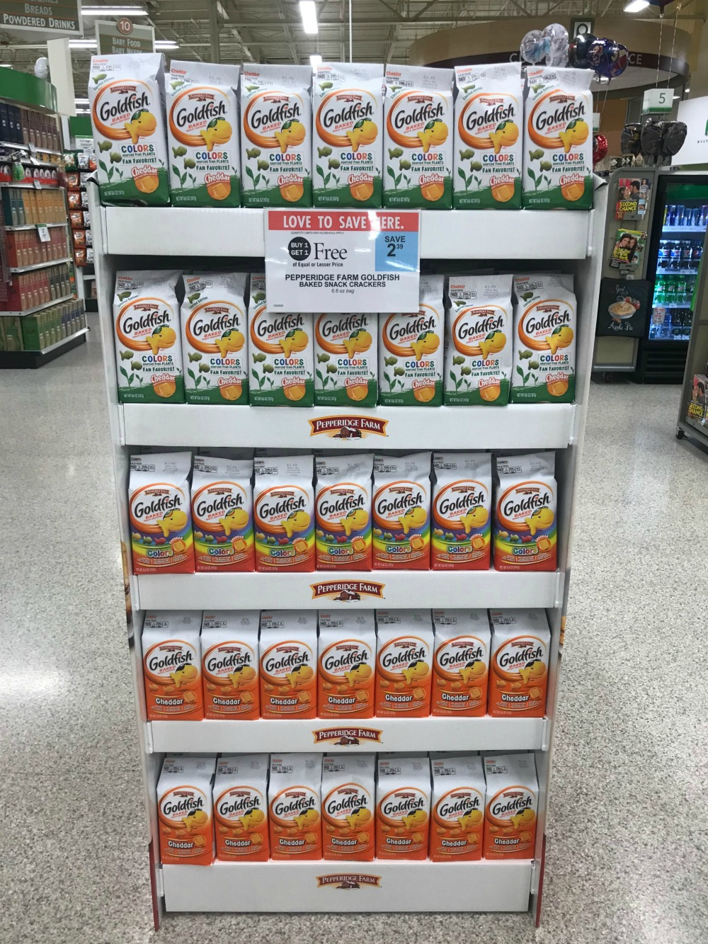 Pepperidge farm goldfish i heart publix i wanted to give you guys a reminder that you still have time to pick up a great deal on your favorite pepperidge farm goldfish colors crackers with the solutioingenieria Image collections