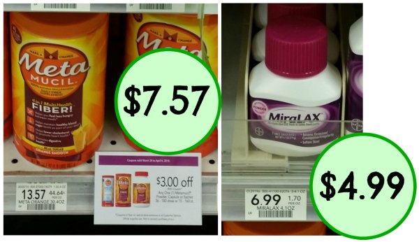 picture relating to Miralax Printable Coupons called Fresh Metamucil MiraLAX Coupon codes Towards Print