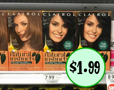 New Clairol Hair Color Coupon Ibotta Natural Instincts Just 1 99 At Publix
