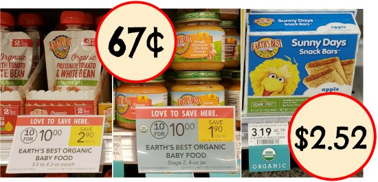 Earth S Best Baby Food Pouches Coupons