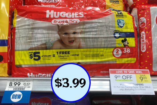 Huggies Diapers As Low As $3.99 At Publix
