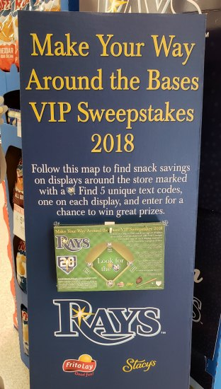 Tampa bay sweepstakes
