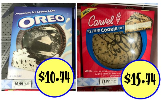 photograph about Oreo Printable Coupons referred to as Refreshing Carvel Oreo Ice Product Cake Ibotta Deals - Help you save Huge At