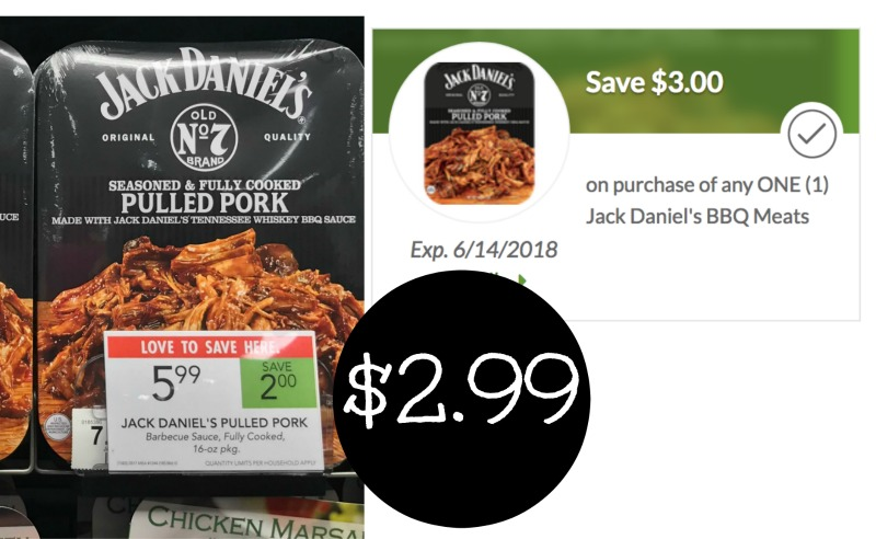 Jack Daniel's BBQ Meats Just $2 99 With The BIG Coupon!