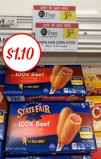 State Fair Corn Dogs - Just $1.10 At Publix