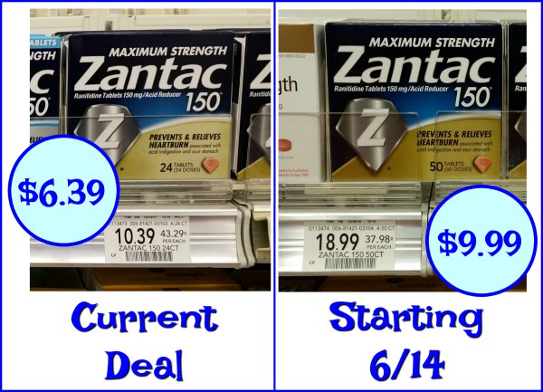 graphic regarding Zantac Printable Coupon called Fresh Zantac Coupon For The Publix Gross sales