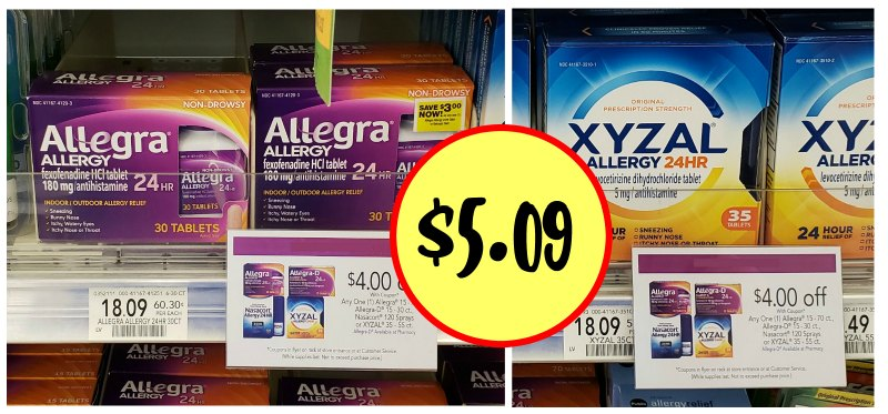 image regarding Allegra D Coupons Printable referred to as Massive Price savings Upon Allergy Medicines Inside of The Future Publix Advertisement