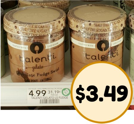 Talenti less sugar
