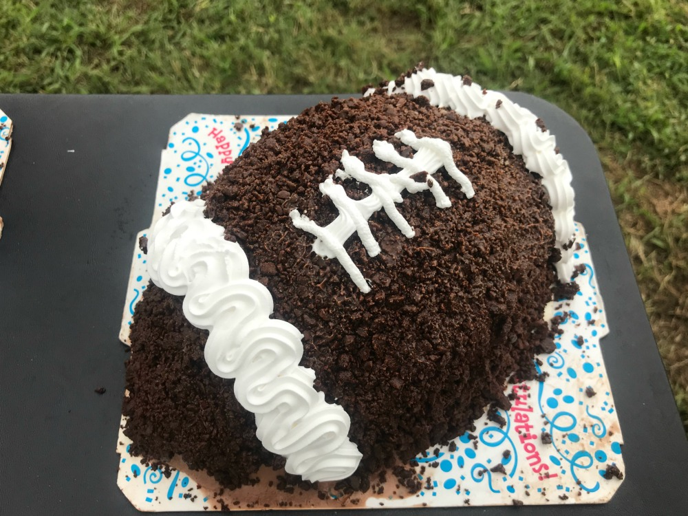 Bring Home A Carvel Game Ball Cake For Your Game Day Gathering On