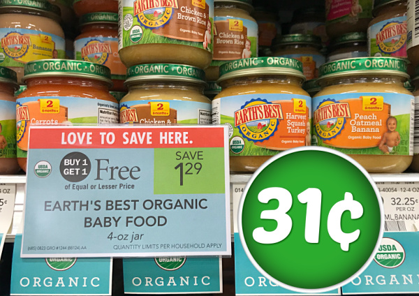 Earth S Best Baby Food Sale