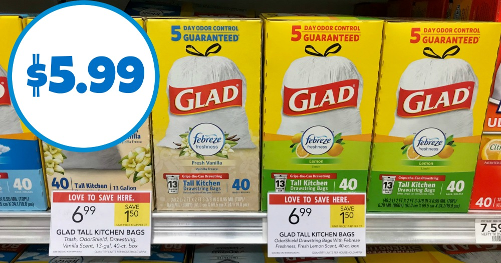 We Have A New Glad Trash Bag Coupon That Goes Great With The Cur At Publix Print Your Coupons And Pick Up Super Deal On Bags
