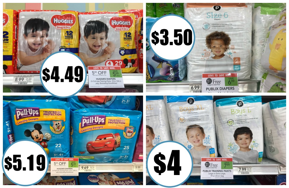 Diapers As Low As $3.50 This Week At Publix