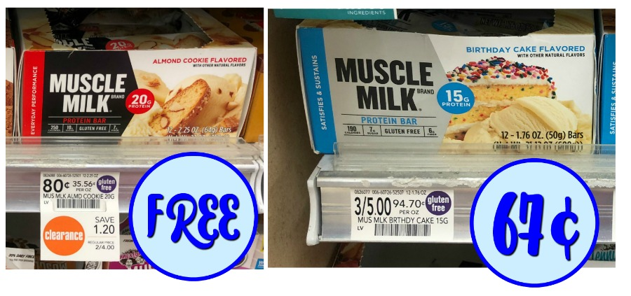New Muscle Milk Coupons FREE Cheap Protein Bars Plus Savings On Shakes