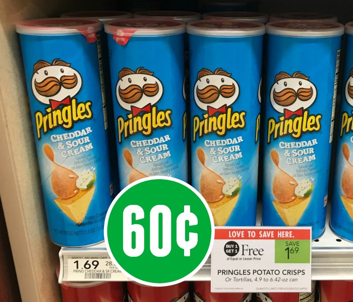 Pringles Just 60¢ Per Can At Publix