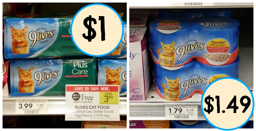 New 9lives Coupons Super Price On Dry Food In Upcoming