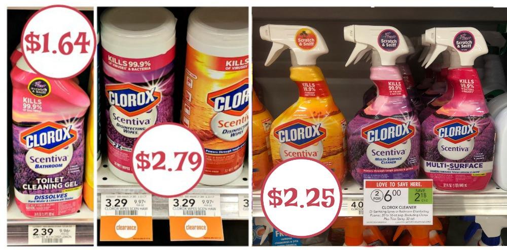 new clorox scentiva coupons toilet gel just 1 64 at publix