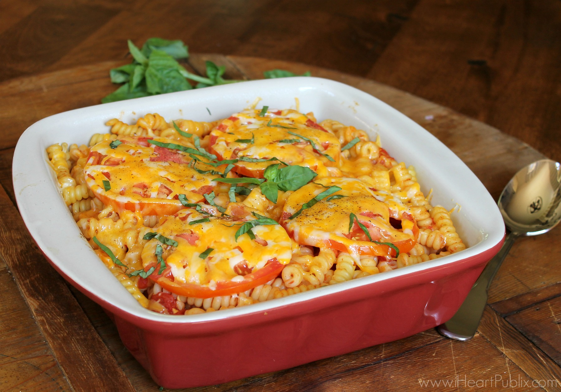 Pizza Margherita Pasta - Easy & Delicious Recipe For Your Busy Weeknight on I Heart Publix 1