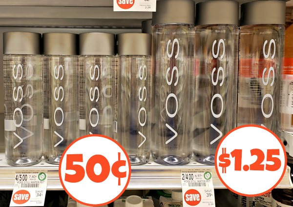 Voss Water As Low As 50¢ At Publix