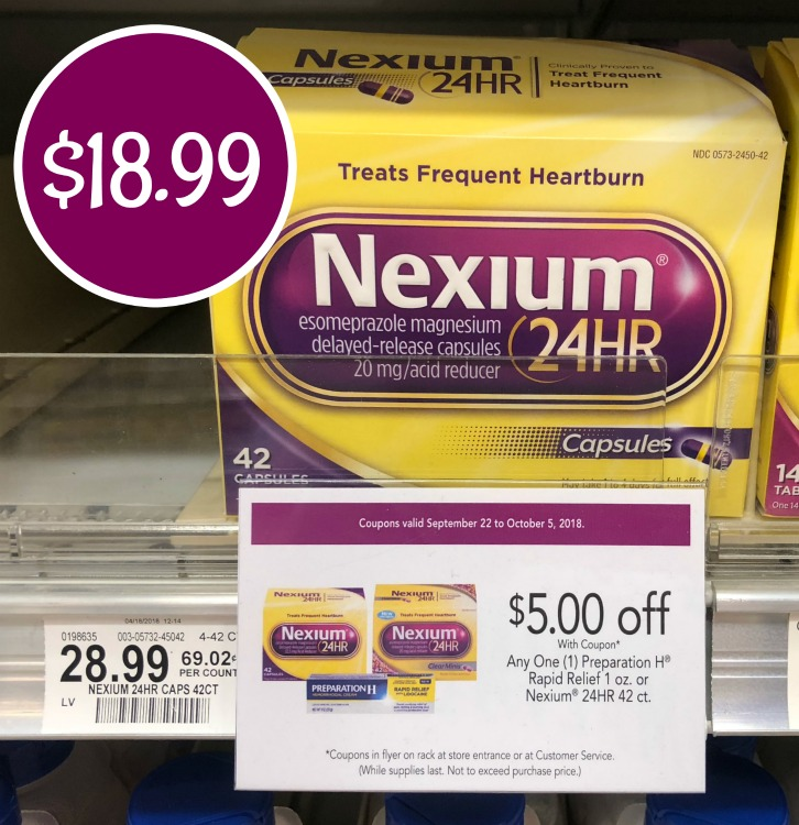 picture relating to Nexium Coupons Printable referred to as Fresh new Nexium Discount coupons Towards Print - Tremendous Discounted At Publix!