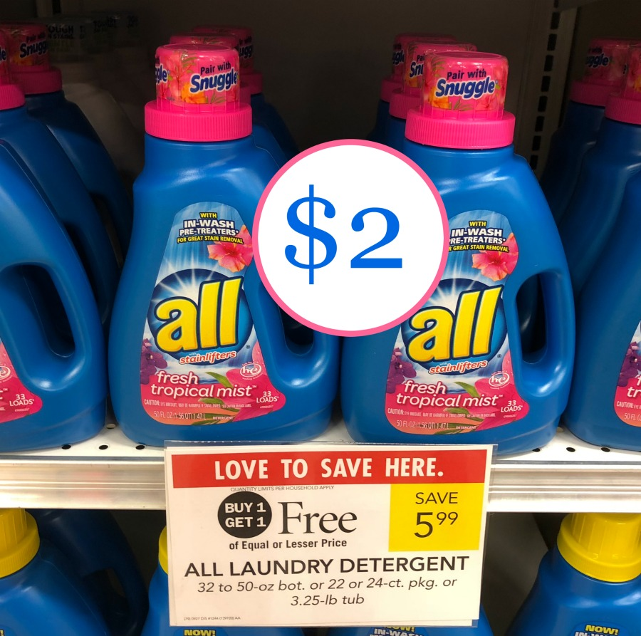 new all laundry detergent coupon for the upcoming publix sale 2