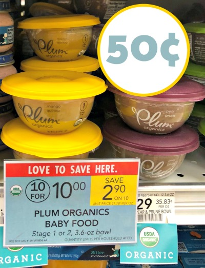 picture about Plum Organics Printable Coupons titled Plum Organics, I Middle Publix