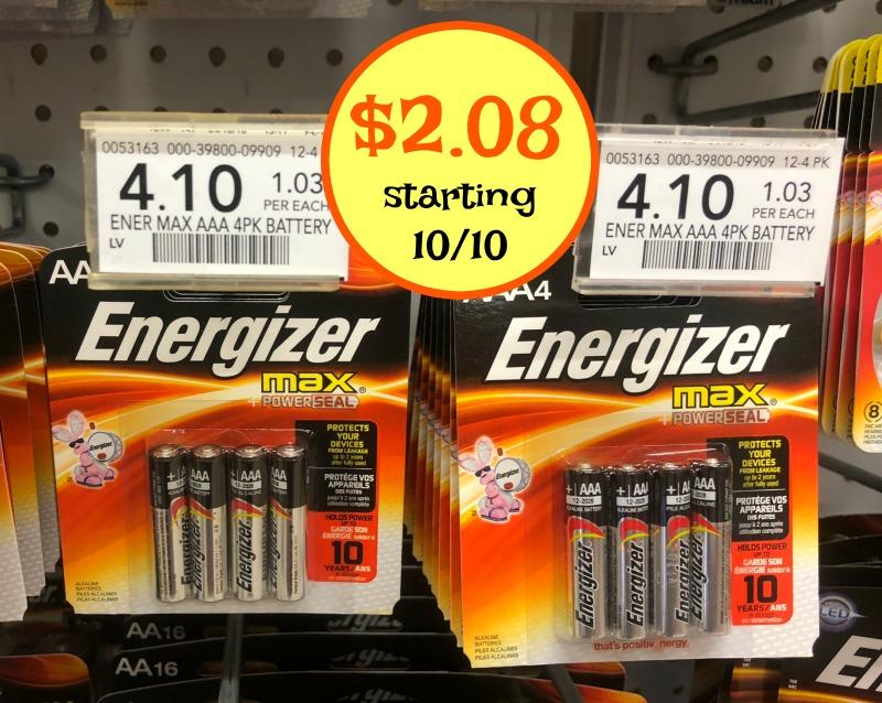 Energizer Batteries I Heart Publix