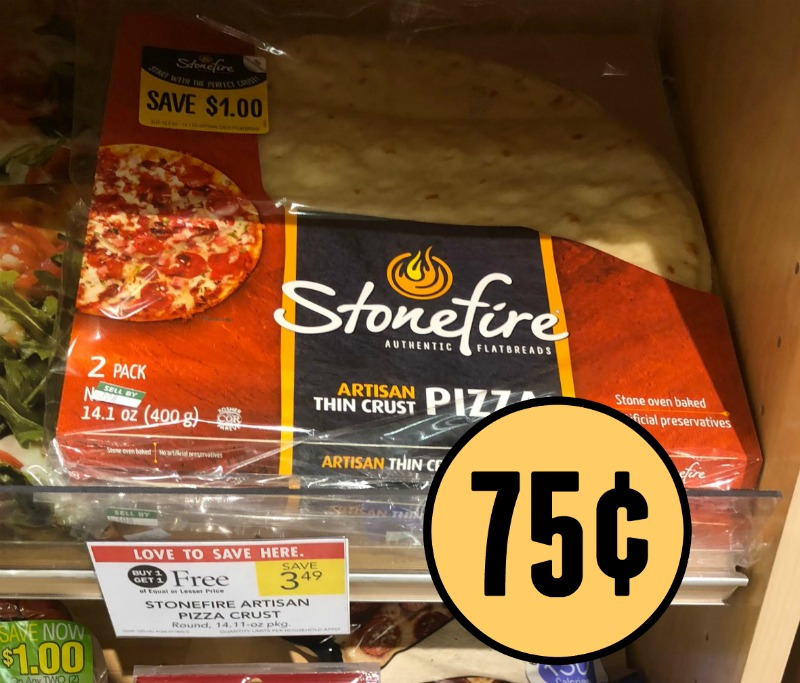 Stonefire pizza coupons