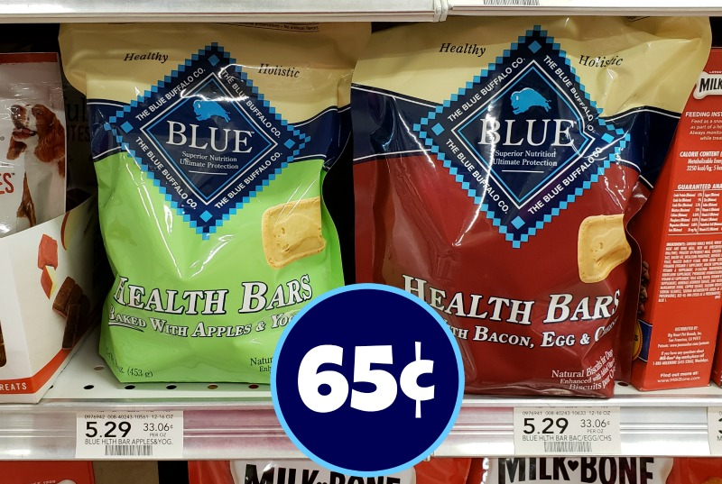 image about Blue Buffalo Printable Coupon known as Blue Buffalo Doggy Snacks - Basically 65¢ At Publix