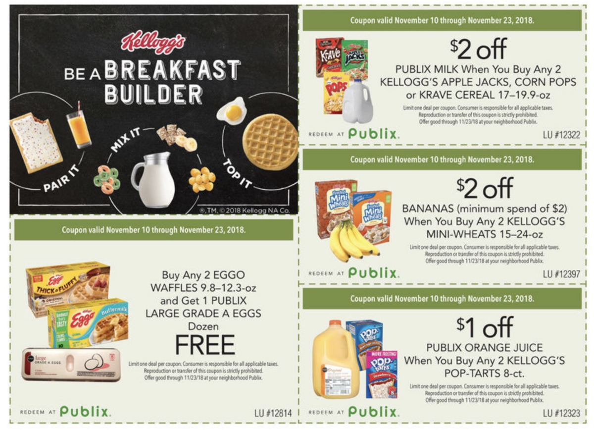 b85fd23be540 Be A Breakfast Builder   Grab Great Savings On Your Favorite Kellogg s  Products Through 11 23!