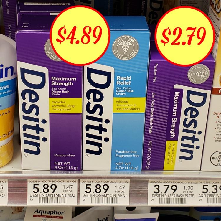 coupons desitin diaper rash cream