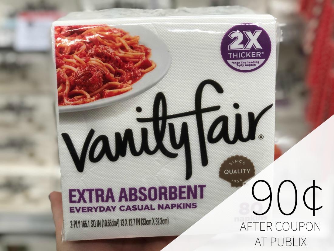 Stock Up On Vanity Fair Napkins During The BOGO Sale At Publix on I Heart Publix 1