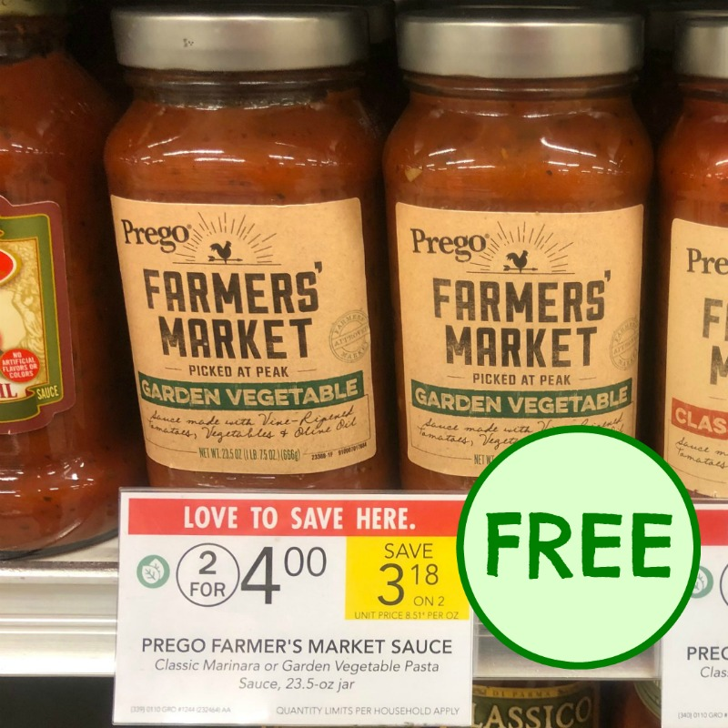 graphic regarding Prego Printable Coupons titled Free of charge Prego Farmers Industry Sauce At Publix (+ Inexpensive Month-to-month