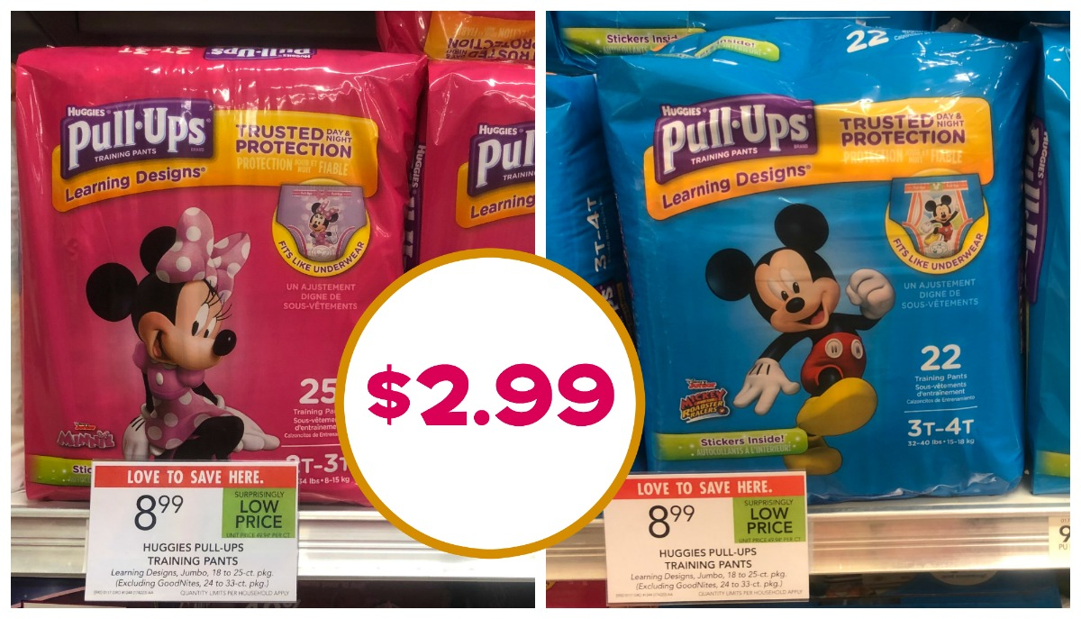 Super Price On Pull-Ups At Publix