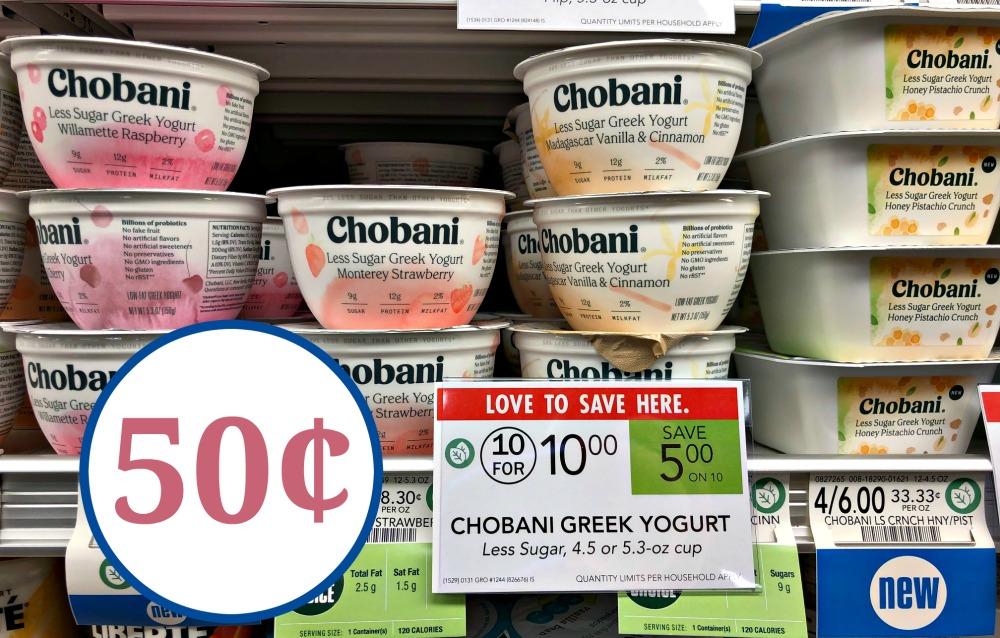 chobani greek yogurt coupons 2019