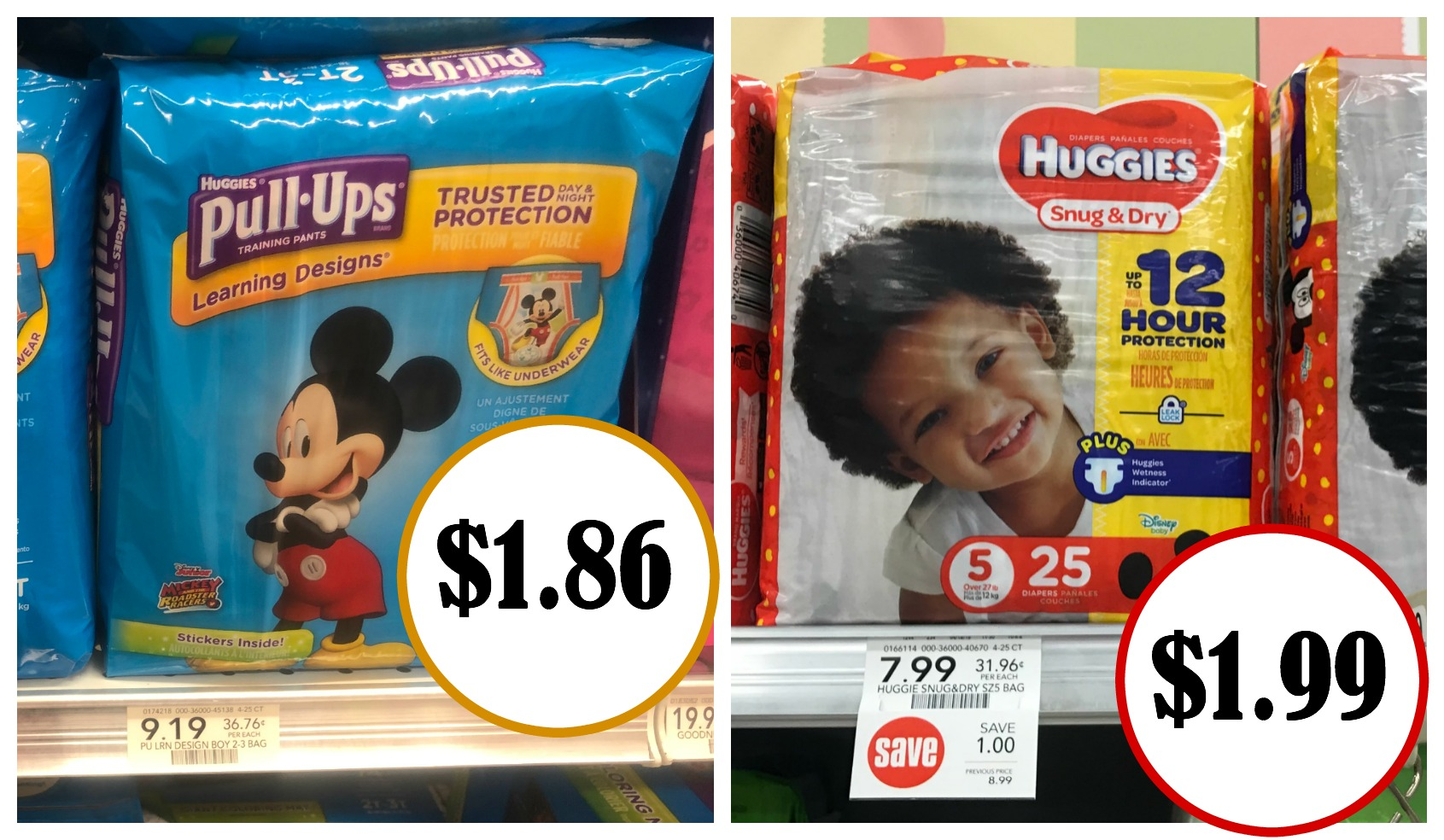 Amazing Deal On Huggies Diapers And Pull-Ups This Week At Publix