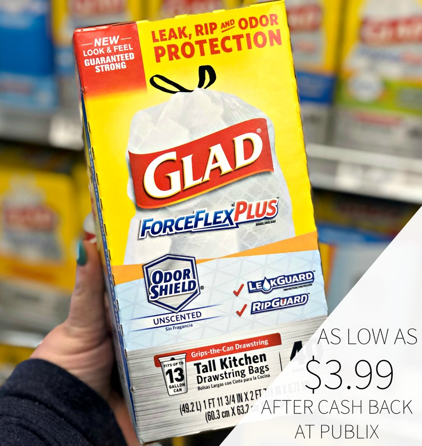 photograph regarding Glad Trash Bags Printable Coupon identify satisfied coupon, I Middle Publix