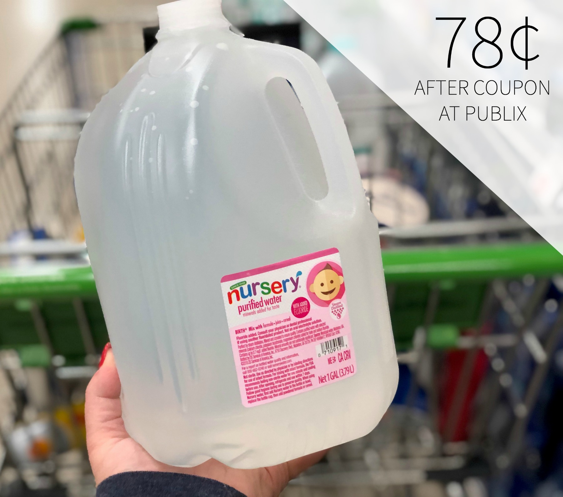 Nursery Water 1 Gallon Jugs Only 78 At Publix