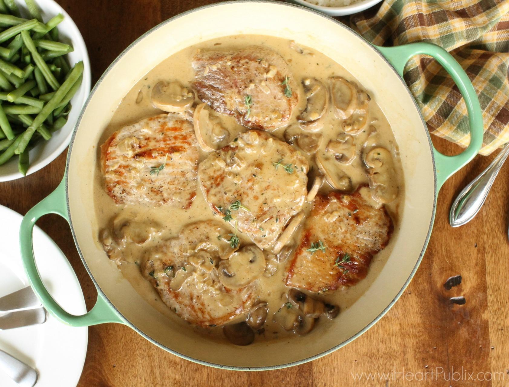 Smothered Pork Chops - Super Meal For The BOGO Sale On Pork At Publix! on I Heart Publix 2