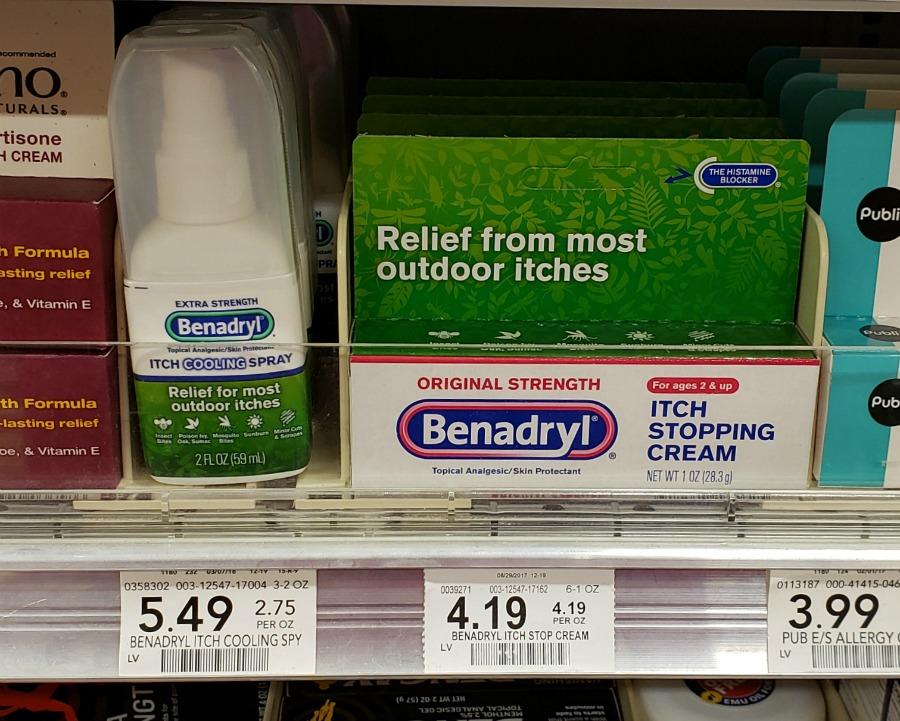Benadryl Topical Anti-Itch Cream Just 69¢ At Publix
