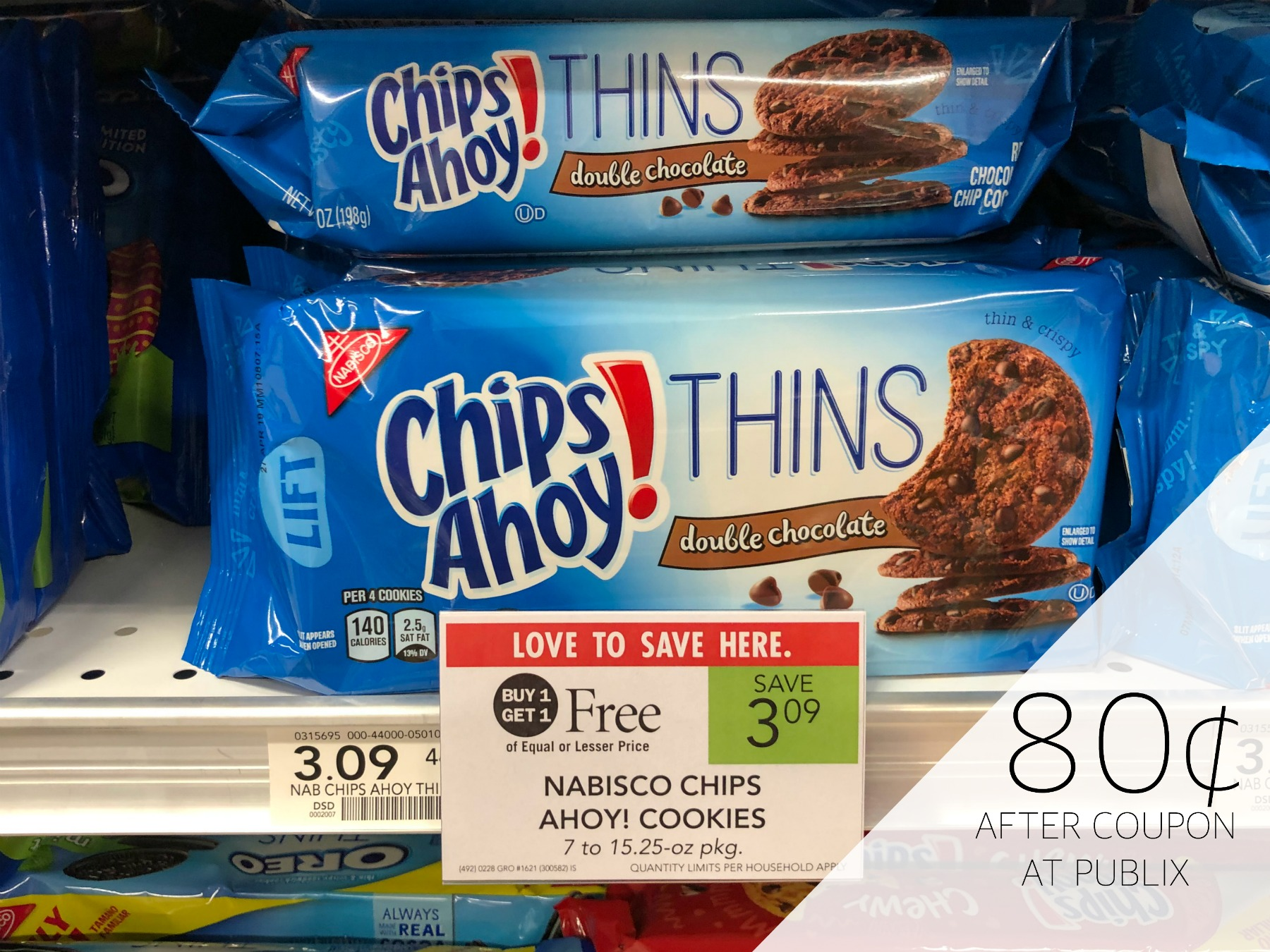 It's just a graphic of Gargantuan Chips Ahoy Coupons Printable