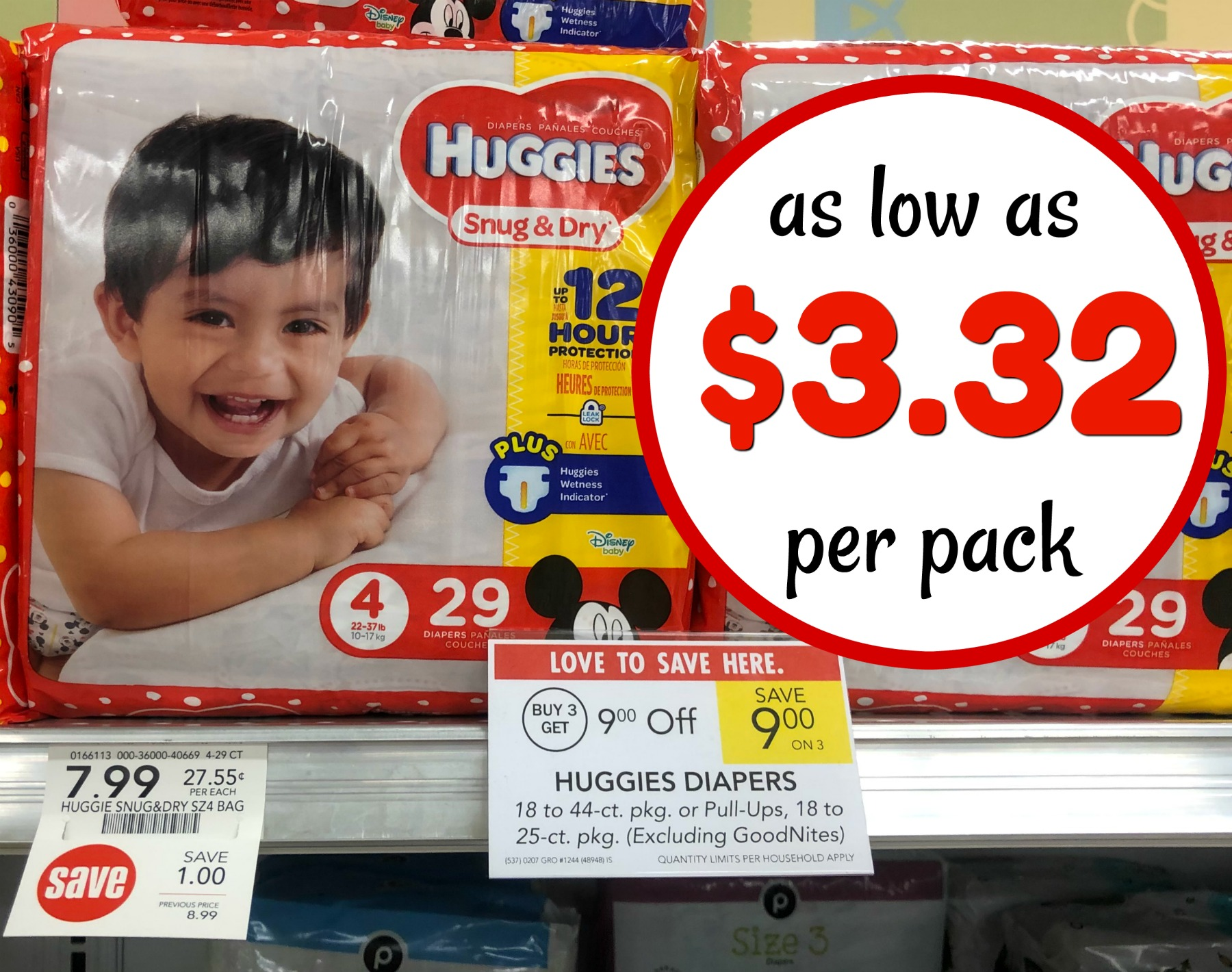 Huggies Diapers Coupon I Heart Publix