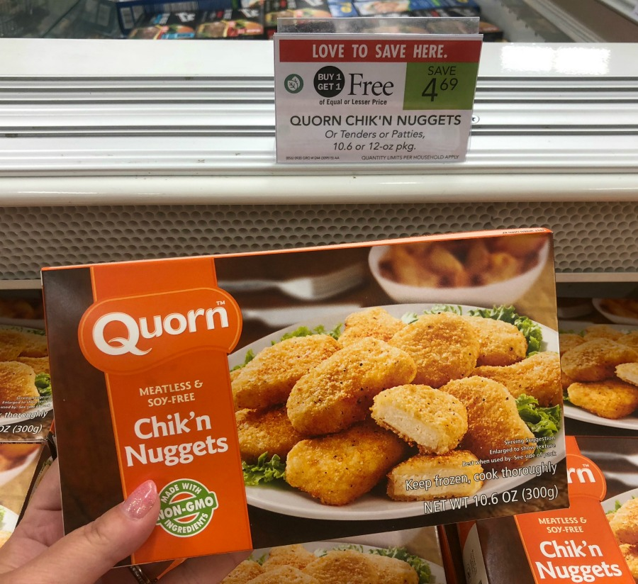 Quorn Nuggets Advert: Better Than FREE Quorn Chik'n Patties Or Nuggets At Publix