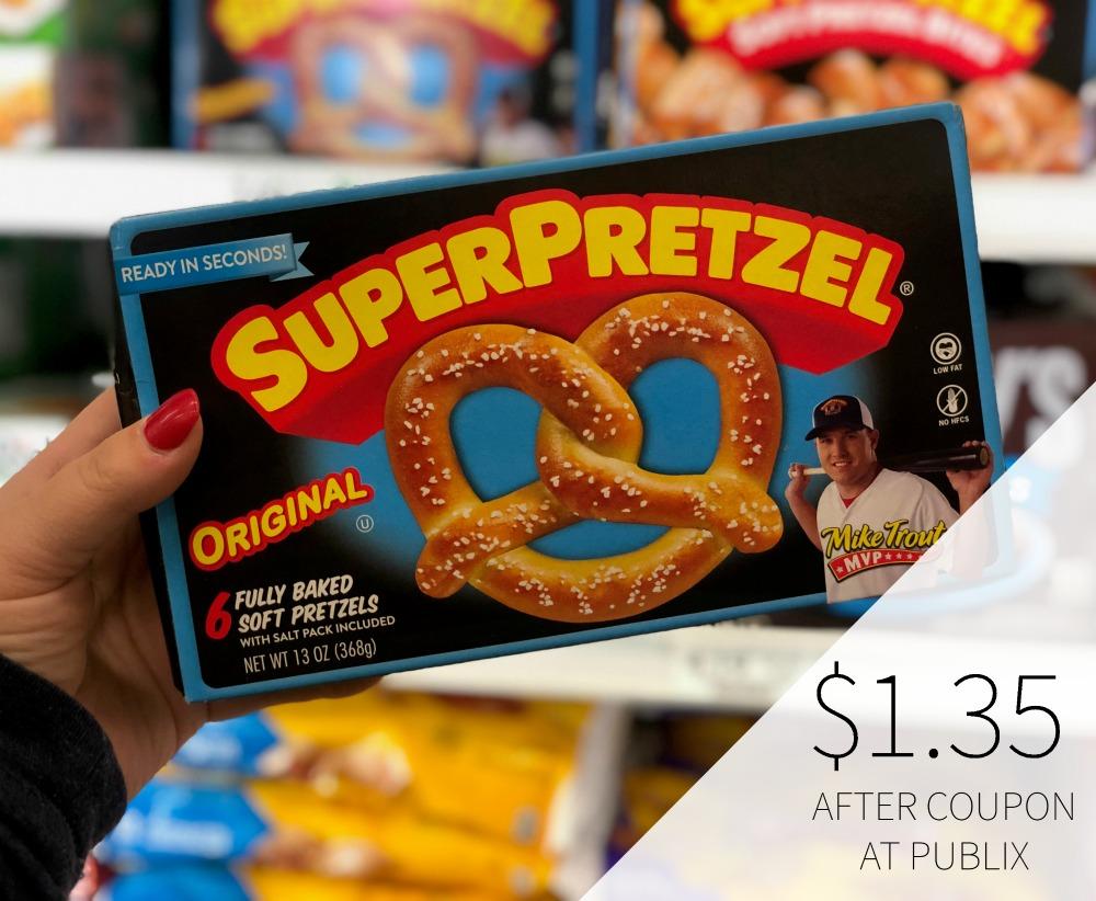 SuperPretzel Soft Pretzels As Low As $1