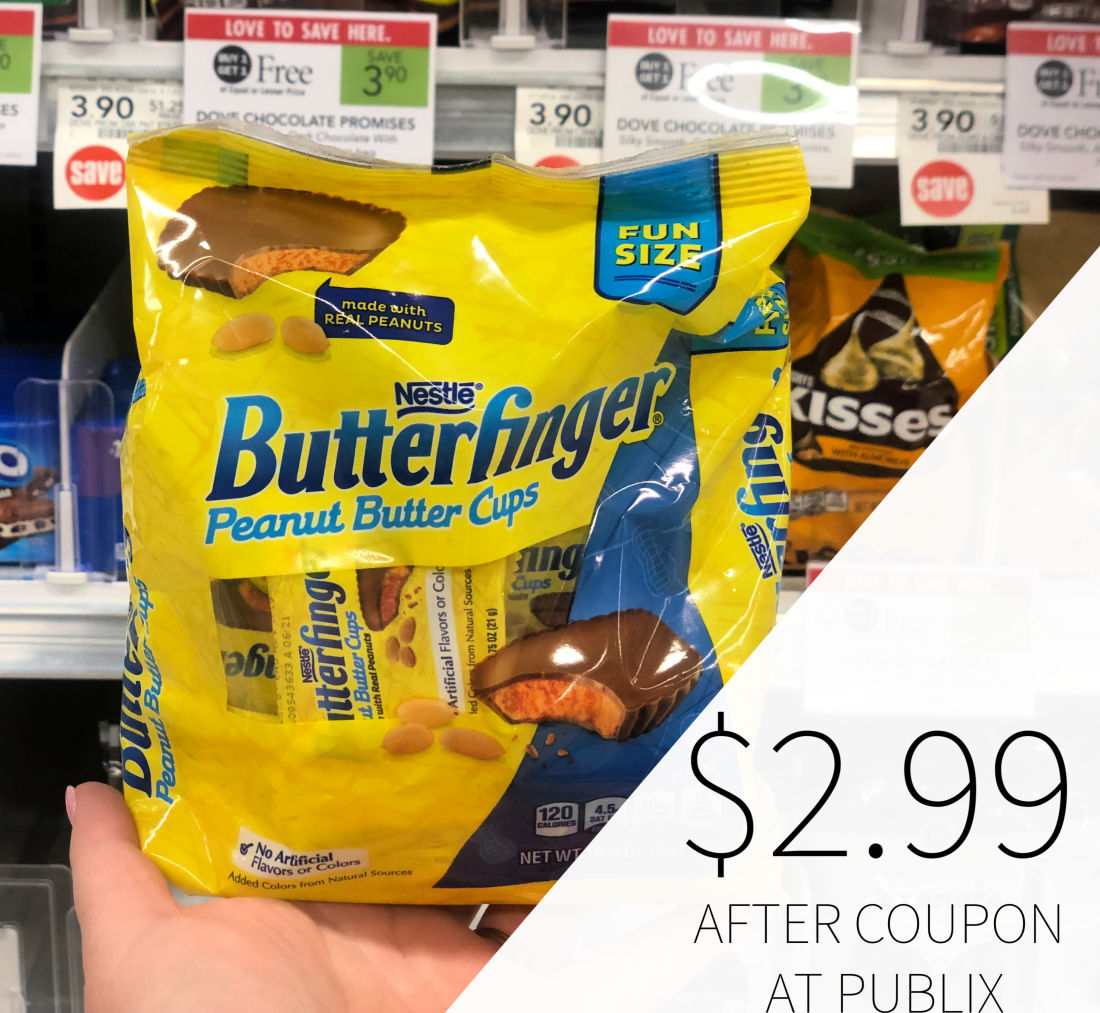 Butterfinger Fun Size Only $2.99 At Publix