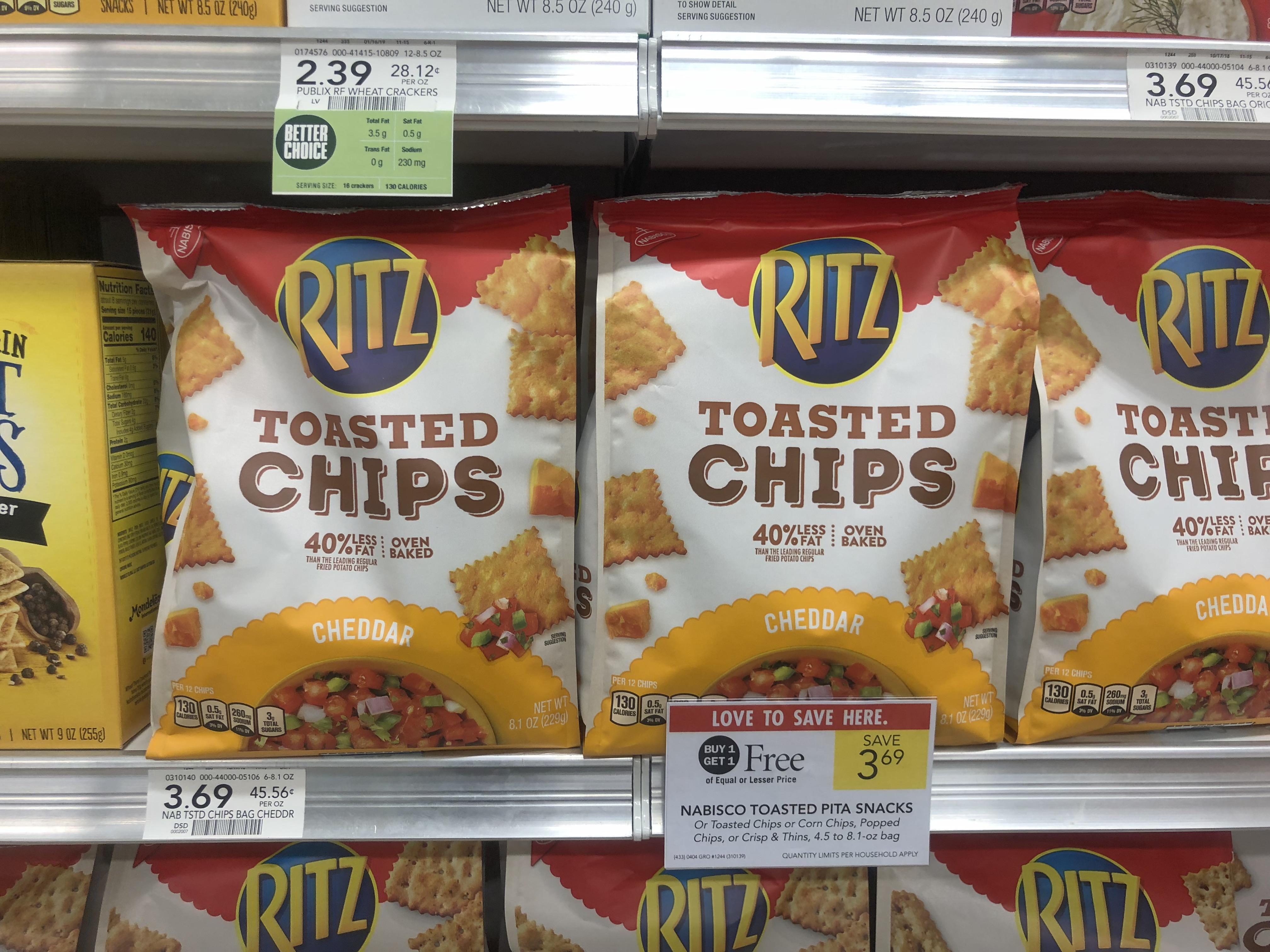 Nabisco Ritz Crackers As Low As 69 At Publix